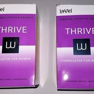 2 Boxes Women's Thrive Capsules